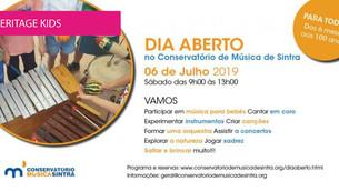 Dia aberto no Conservatório de Música