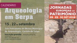 """Formação """"Arqueologia em Serpa"""""""