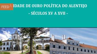"Curso ""A idade de ouro política do Alentejo - séculos XV a XVII"""