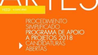 DGARTES abre Candidaturas para Programa de Apoio a Projectos 2018