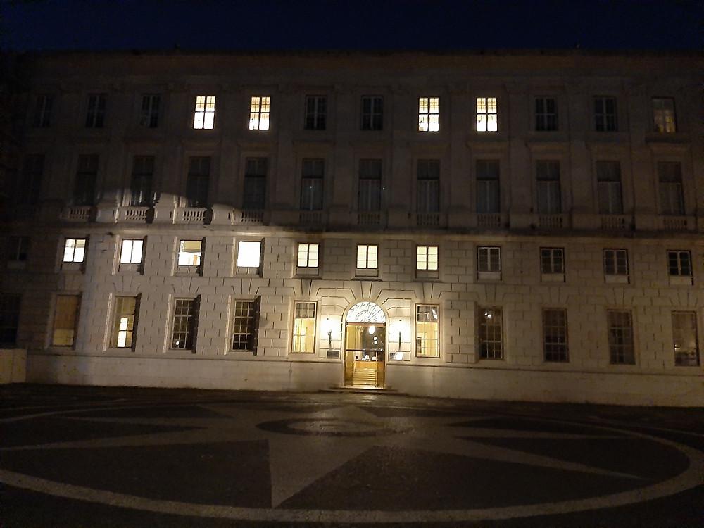 Palácio Nacional da Ajuda. Ala Norte-Ministério da Cultura.