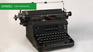 A propósito de secretárias e máquinas de escrever