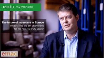 Michel Dixon, Director do Natural History Museum, no European Museum Advisors Conference