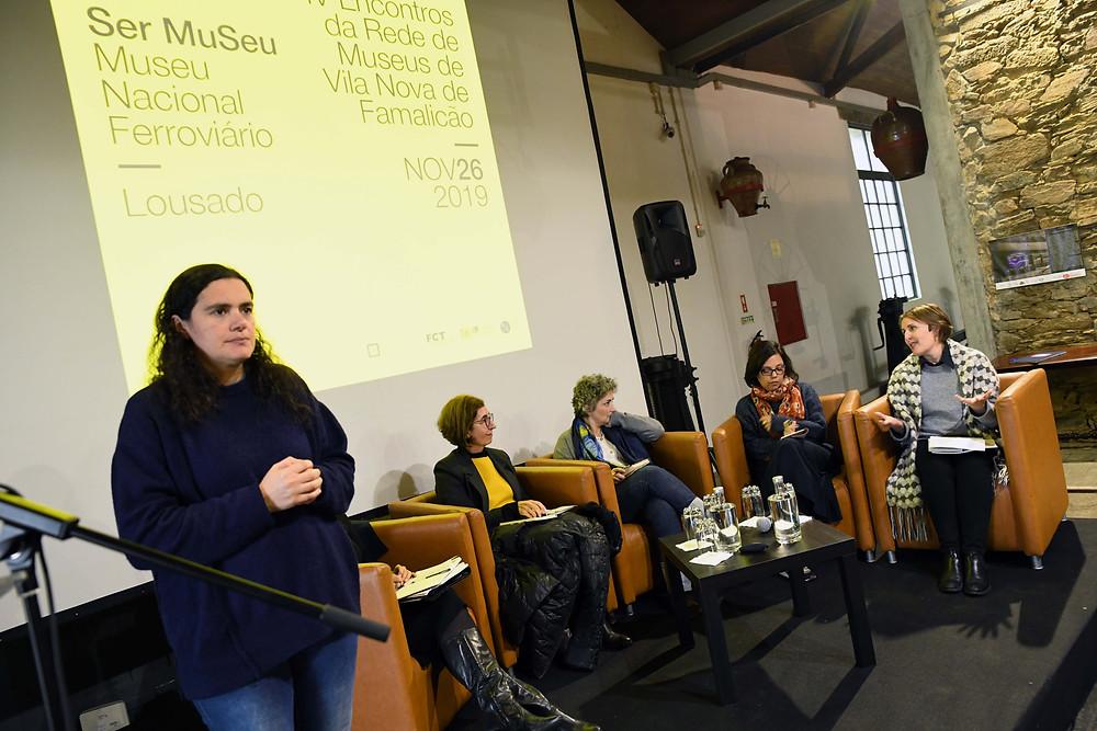 """Debate """"Ser Museu no século XXI"""". @Diana Correia."""