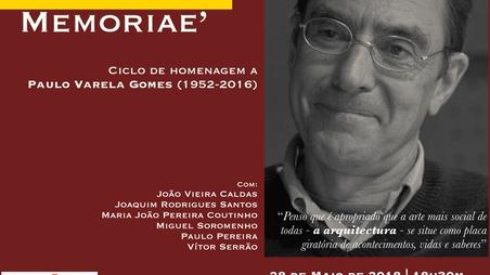Ciclo de homenagem a Paulo Varela Gomes
