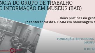 3ª Conferência Nacional do Grupo de Trabalho de Sistemas de Informação em Museus