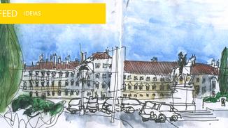 Vila Viçosa recebe urban sketchers