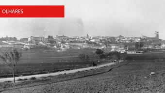 Beja vista pelo Nascente no final do século XIX