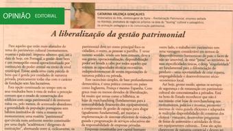 A liberalização da gestão patrimonial