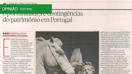 Oportunidades e contingências do património em Portugal