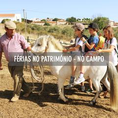 FÉRIAS NO PATRIMÓNIO - NO CAMPO