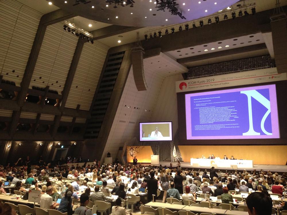 Assembleia-geral extraordinária do ICOM