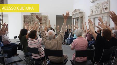 EU no musEU – acessibilidade integrada com pessoas com demência e seus cuidadores