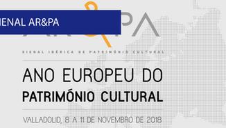Bienal AR&PA 2018 - Bienal Ibérica de Património Cultural em Valladolid