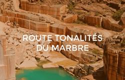 Route Tonalités du Marbre