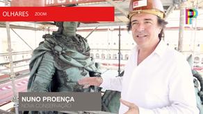 Reportagem - O restauro da Estátua Equestre de D. José I
