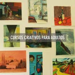 CURSOS CRIATIVOS PARA ADULTOS