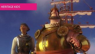 A primeira viagem de circum-navegação em cinema de animação
