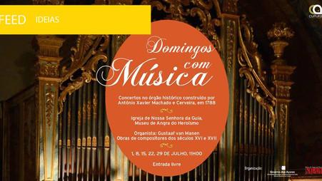 """Museu de Angra do Heroísmo promove """"Domingos com Música"""""""