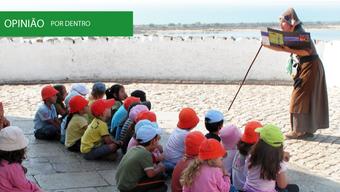 Antigamente era assim... Experiências de educação para o património no Algarve