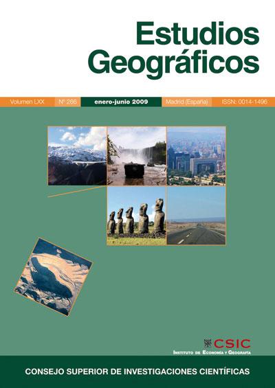 Estudios Geograficos