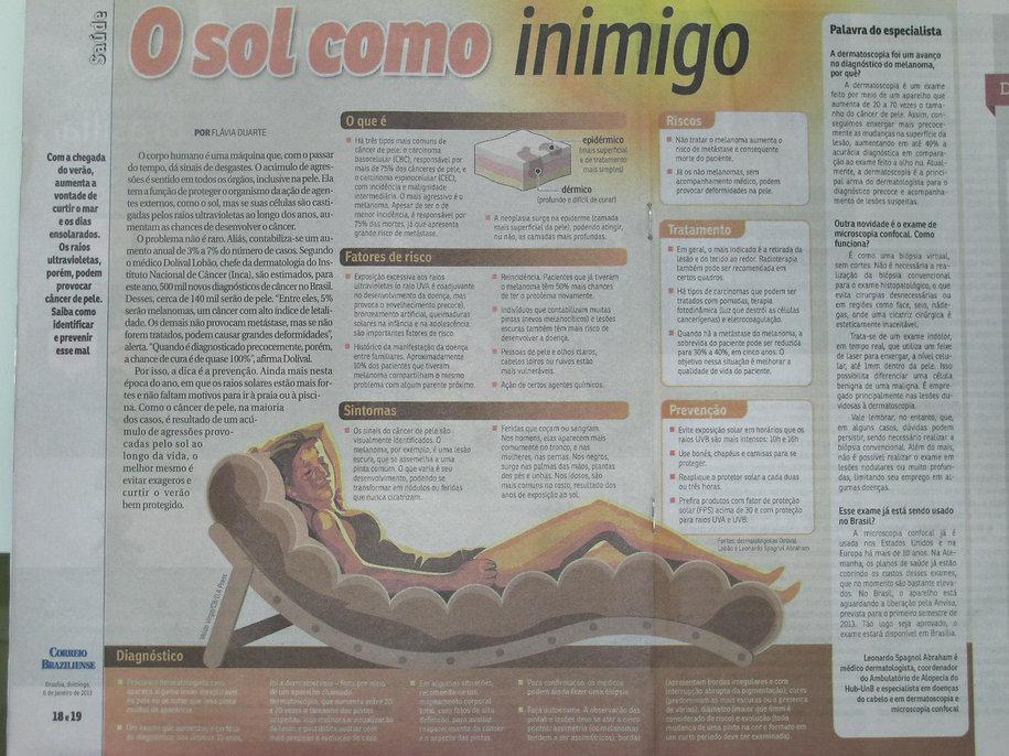 Prevenção do câncer de pele (melanoma)