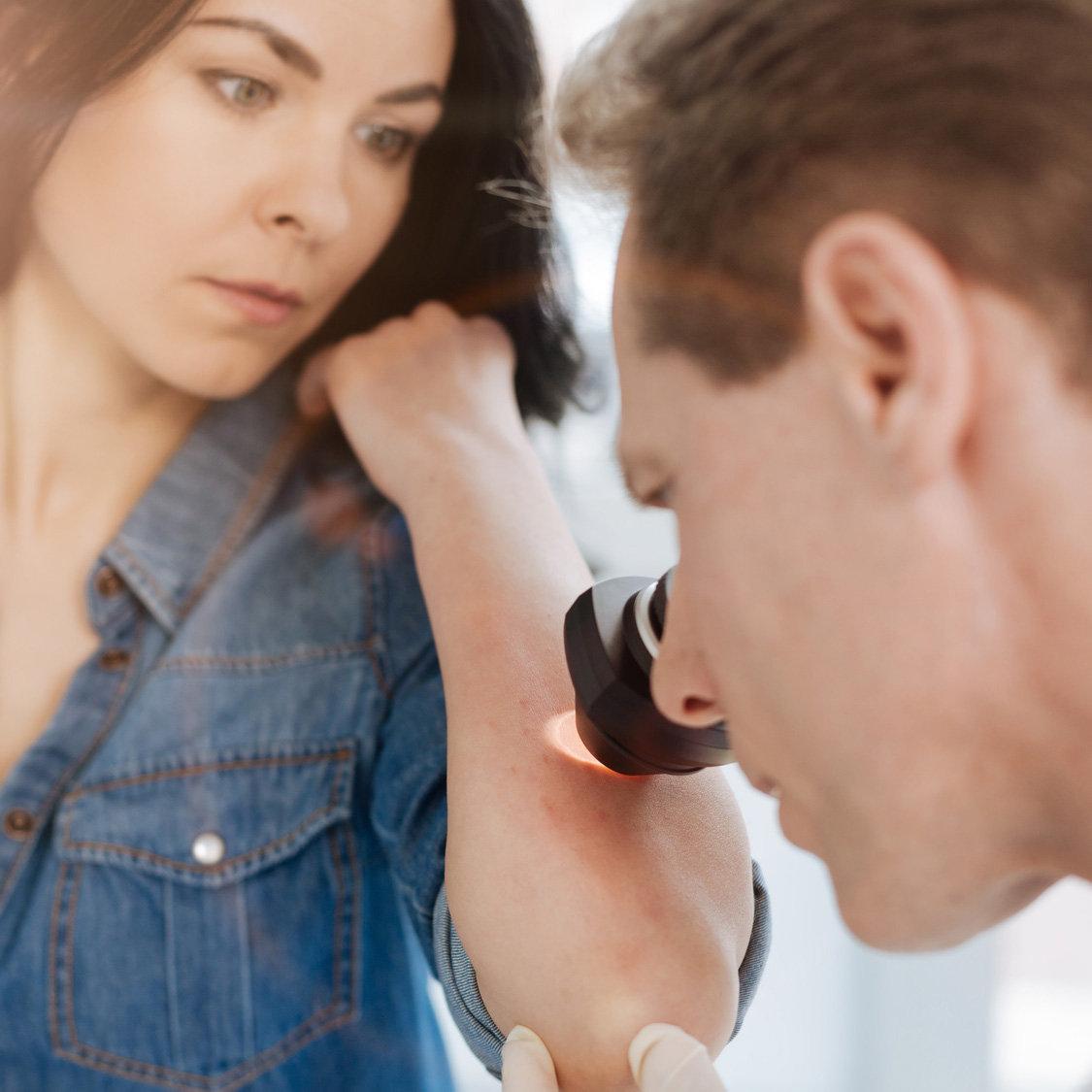 Dermatoscopia (até 5 lesões)