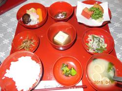 總持寺の薬石(夕食)です