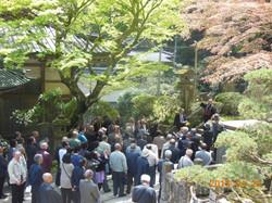 第4教区の法輪寺さんは最乗寺で修行しましたので、案内役をして頂きました