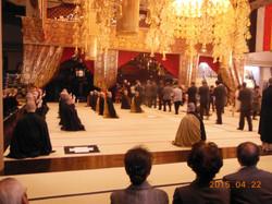 我々参拝団の供養を修行僧達にして頂きました