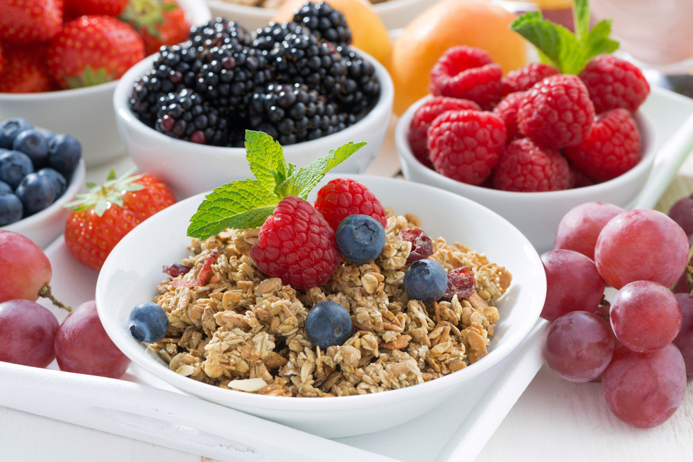 9. Put fruits in your cereal.