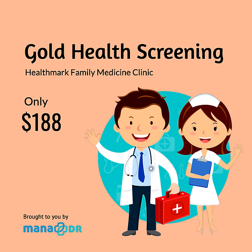 HFMC Clinic - Gold Health Screening