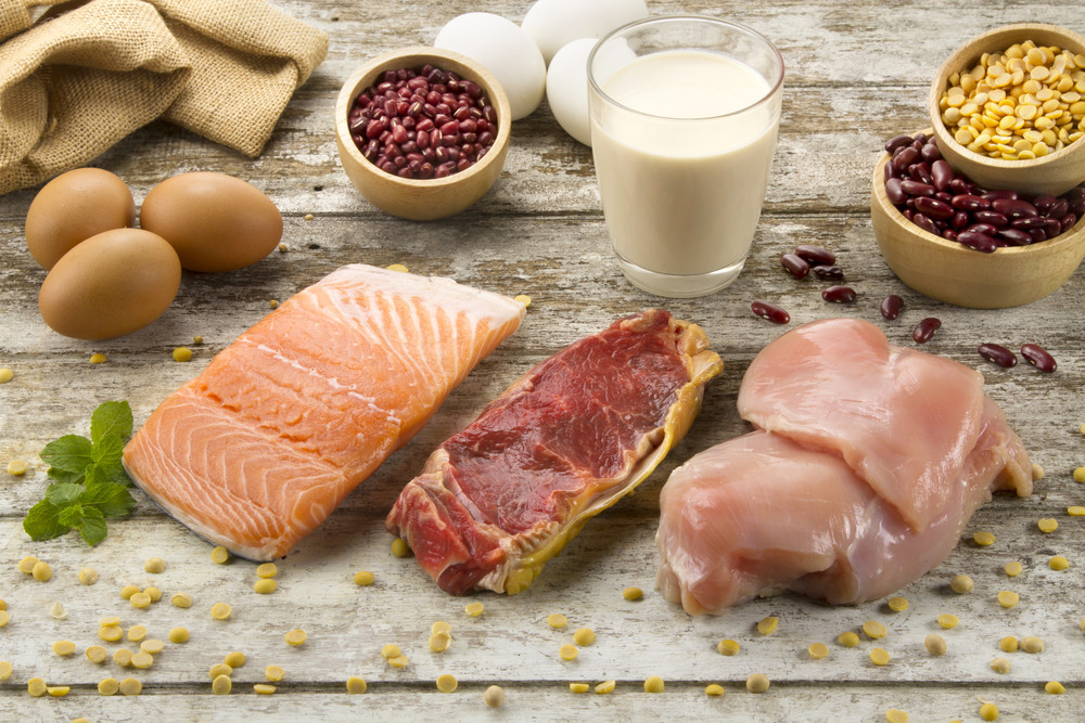 4. Choose chicken, fish and beans instead of red meat and cheese.