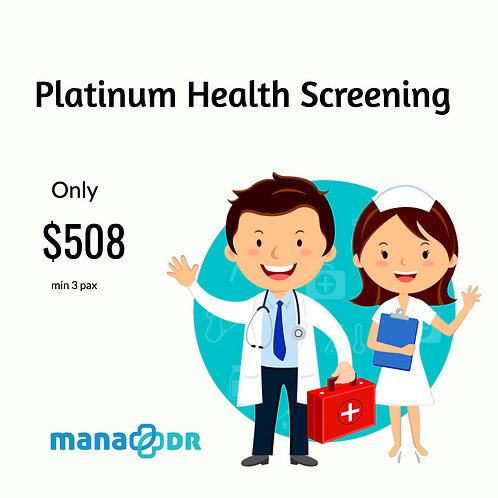 Platinum Health Screening [MIN 3 PAX]