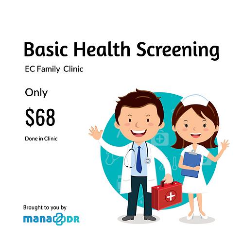 EC Clinic - Basic Health Screening