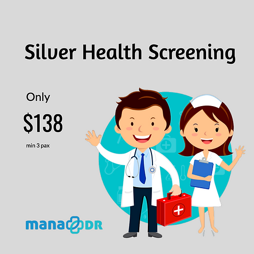 Silver Health Screening [MIN 3 PAX]