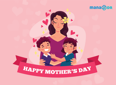 MaNaDr wishes all mothers a Happy Mother's Day!