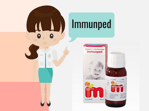 Immunped. Vitamin C plus Zinc 60mL