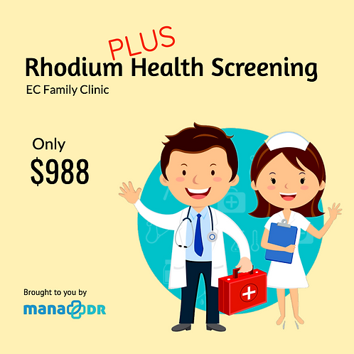 EC Clinic - Rhodium Plus Health Screening