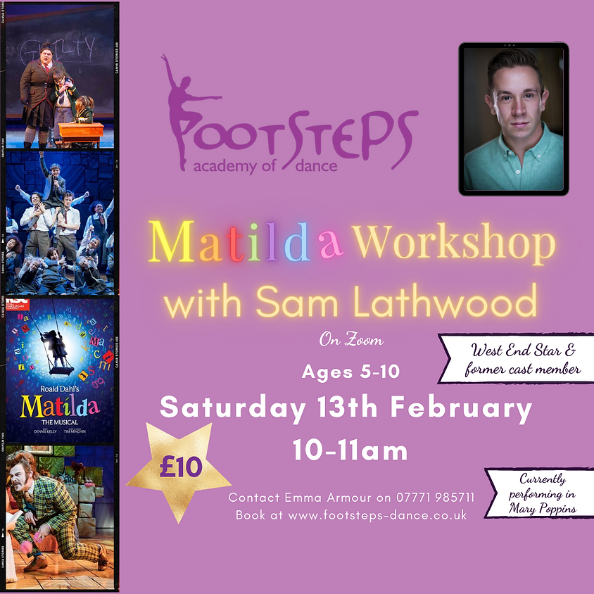 Matilda Workshop with Sam Lathwood