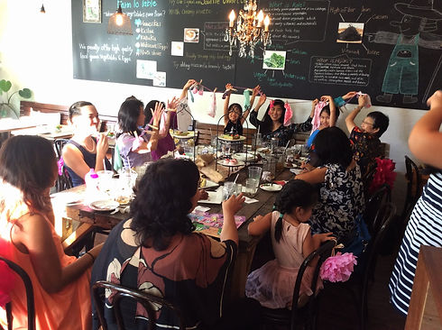 Our space is available for private parties after hours. Generally, you can reserve the restaurant from 330-8PM, although other times can be arranged.