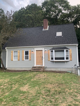 Siding refinish, after