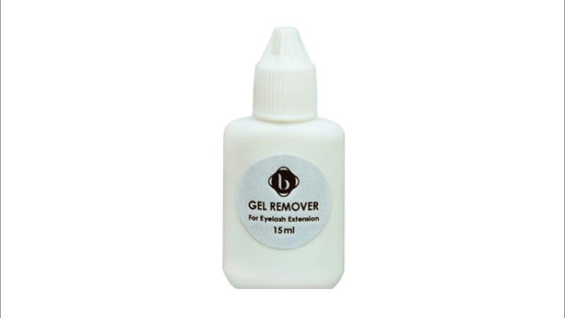 Remover extension cils en gel