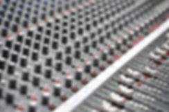 Analog Mixer Console