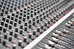 Audio Mixing Pult