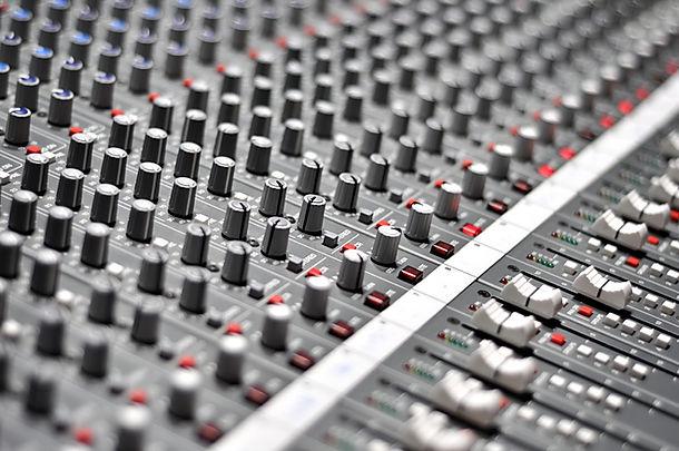 Mixage audio Pult
