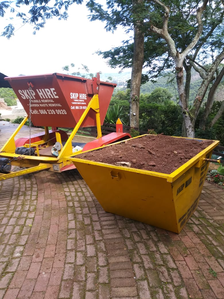 Building Rubble and Sand Removal