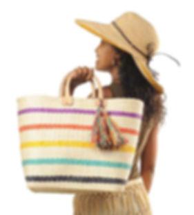 The Hat & Bag Co. Handmade Basket