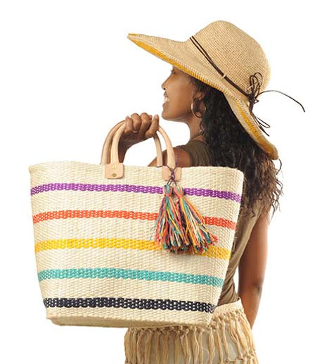 The Hat & Bag Co. Handmade Basket