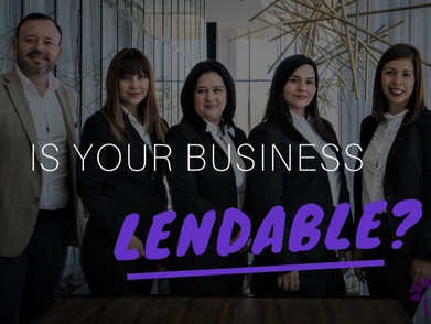 Is Your Business Lendable?